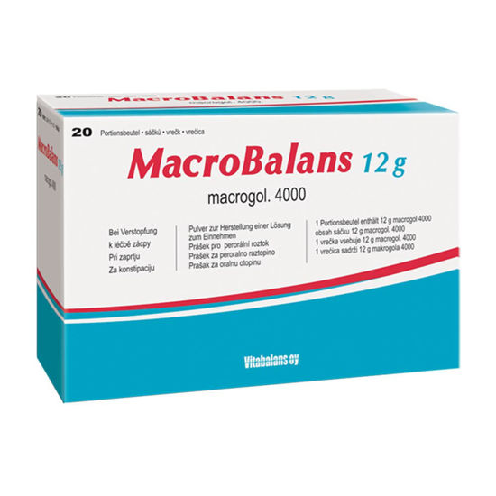 MacroBalans pomoč pri zaprtju, 12 g