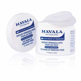 Slika Mavala blazinice za odstranjevanje ličil okrog oči, 75 blazinic