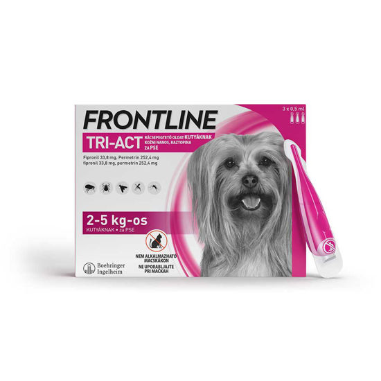 Frontline TRI-ACT kožni nanos za pse, 3 pipete