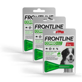 Slika Frontline Combo dog tekočina proti bolham za pse nad 40 kg, 3x4,02 mL