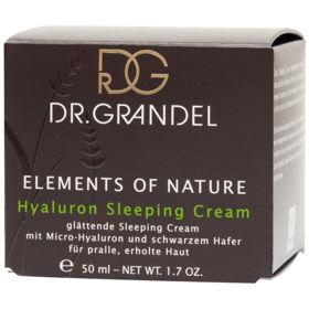 Slika Dr. Grandel Elements of Nature Hyaluron Sleeping Cream nočna krema, 50 mL