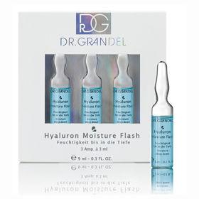 Slika Dr. Grandel Hyaluron PCO Hyaluron Moisture Flash koncentrat aktivnih sestavin, 9 mL
