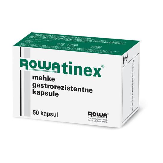 Rowatinex mehke gastrorezistentne kapsule, 50 kapsul