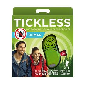 Slika Tickless Human ultrazvočni odganjalec klopov zelen, 1 kos