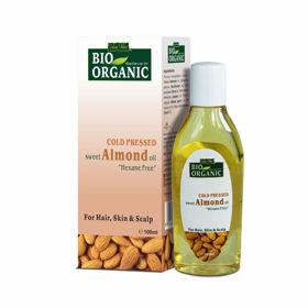 Slika Indus Valley ekološko 100 % mandljevo olje, 100 mL