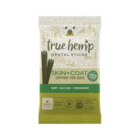Slika True Hemp dentalne palčke Skin&Coat za pse, 100 g