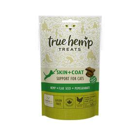 Slika True Hemp priboljški Skin&Coat za pse, 50 g