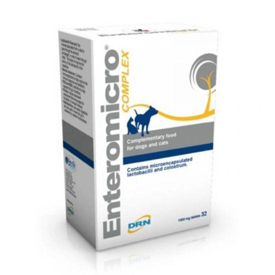 Enteromicro Complex za pse in mačke, 32 tablet