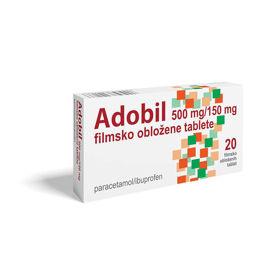 Slika Adobil Paracetamol + Ibuprofen, 10 ali 20 tablet