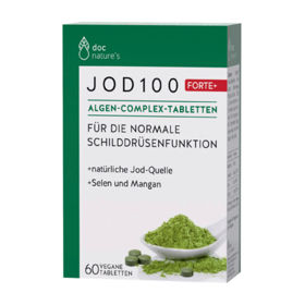 Slika Doc Nature's jod 100 Forte + alge Complex, 60 tablet