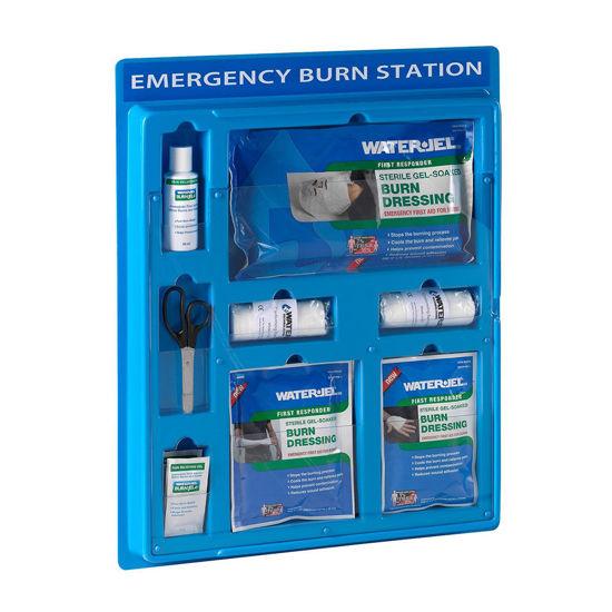 Water-Jel Emergency Burn Station zidna postaja za oskrbo opeklin, 1 set