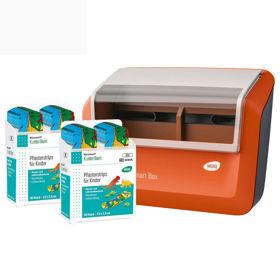 Slika Wero Smart Box  dozirnik obližev KunterBunt z otroškimi obliži za rane, 1 kos + 80 obližev
