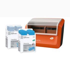 Slika Wero Smart Box AquaFlex Detect dozirnik obližev z detekcijskimi vodoodpornimi elastičnimi obliži, 1 kos + 70 obližev
