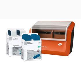Slika Wero Smart Box PowerDetect dozirnik obližev z detekcijskimi obstojnimi tekstilnimi obliži, 1 kos + 70 obližev