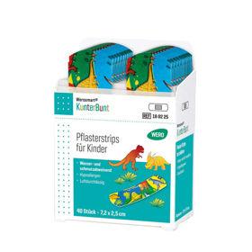 Slika Wero Smart Box KunterBunt polnilo za dozirnik - otroški obliži za rane, 1 polnilo s 40 obližev