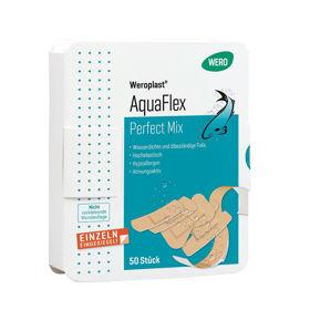 Slika Weroplast AquaFlex Perfect Mix vodoodporni elastični obliži za rane, 50 obližev