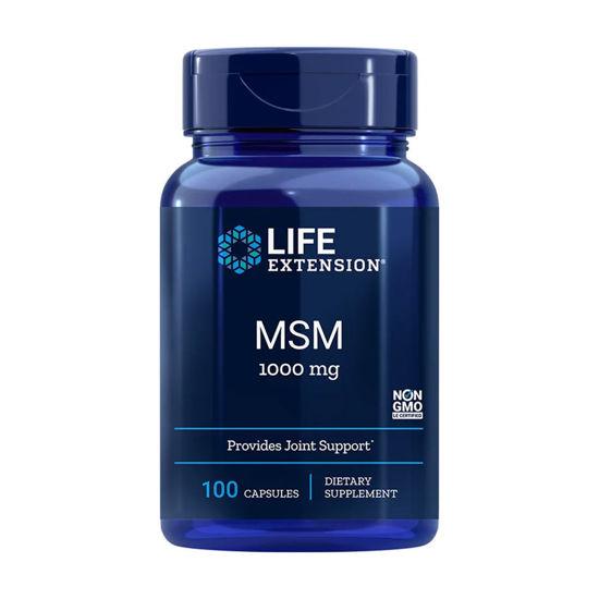 LifeExtension MSM 1000 mg, 100 kapsul