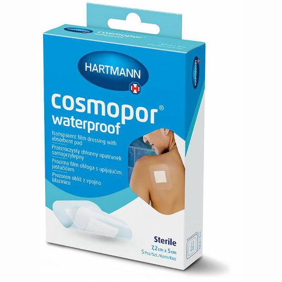 Hartmann Cosmopor Waterproof vodoodporen poopeartivnen obliž, 5 kosov