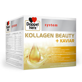 Slika Doppelherz System Kolagen Beauty + kaviar, 30 ampul
