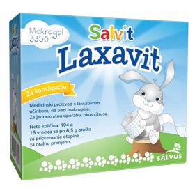 Slika Salvit Laxavit prašek v vrečkah, 16 x 6,5 g