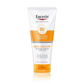 Slika Eucerin Sun Oil Control Dry Touch kremni gel za zaščito pred soncem ZF 50+, 200 mL