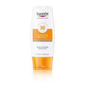Slika Eucerin Sun ekstra lahek losjon za zaščito pred soncem ZF30, 150 mL