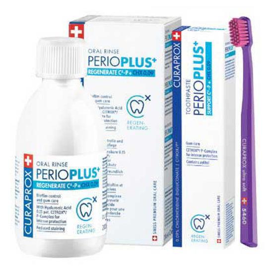 Curaprox Perio Plus + Regenerate paket, 1 set