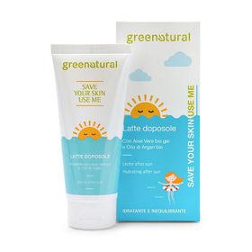 Slika GreeNatural naravno mleko za po sončenju, 100 mL