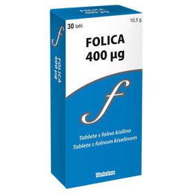 Slika Folica 400 µg, 30 tablet