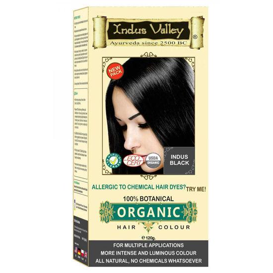 Indus Valley 100% botanična barva za lase - različni odtenki, 120 g