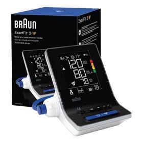 Slika Braun ExactFit 3 BUA6150 merilnik krvnega tlaka, 1 kos